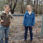 Landcare SJ officers at Duckpond Reserve, Mundijong, Western Australia