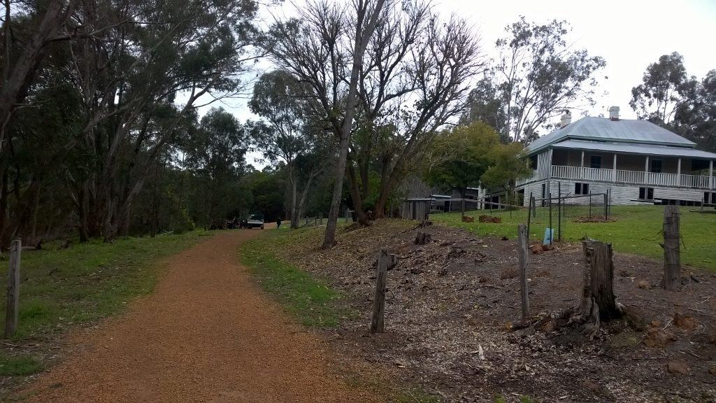 Old Mill Manager's House at Gooralong Brook, Jarrahdale
