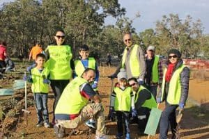 SJ Bahai Community at the Landcare Sj National Tree Day Celebration