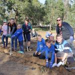 Byford Scouts at the Landcare Sj National Tree Day Celebration