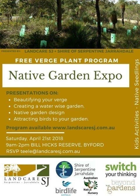 Native Garden Expo Flyer