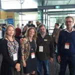 Landcare staff at the WA Feral Cat Symposium