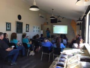 Belinda Taylor's presentation at the 2018 Soil Amendment Bus Tour