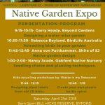 Native Garden Expo Program