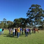 Shanly Green Agistment centre field day