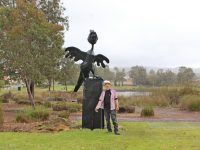 Byford sculpture recognises Landcare SJ's contribution to saving Black Cockatoos