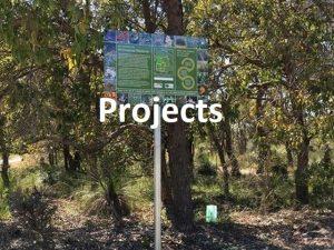 signage at Brickwood reserve